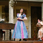 As Rosina in The Barber of Seville with Frédéric Antoun and Peter Strummer, Calgary Opera, April 2009 (Photo by Trudie Lee)